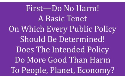 do no harm public policy